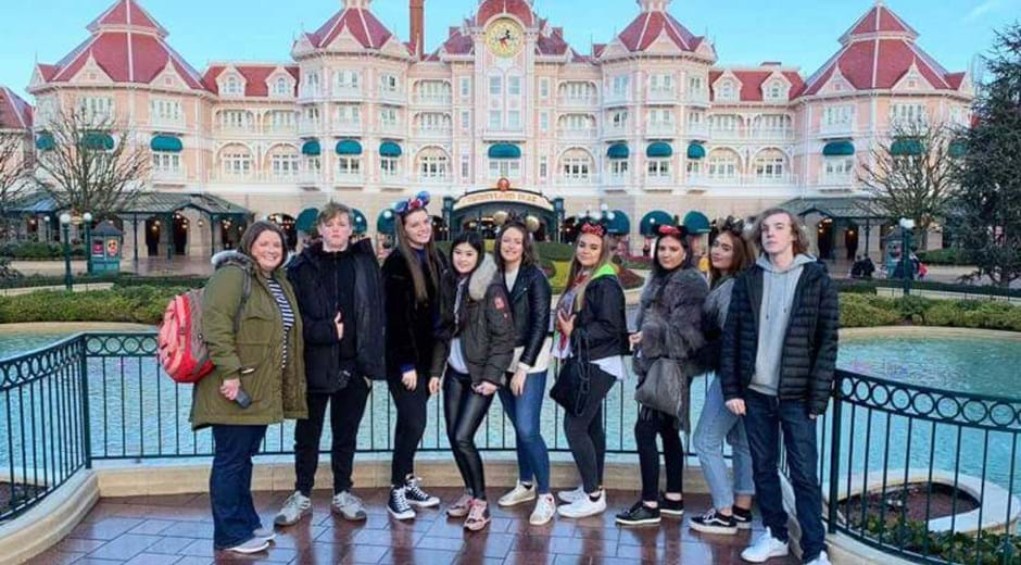 Hugh Baird College's trip to Disneyland® Paris